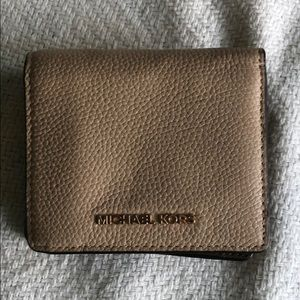 Small MK blush color Wallet
